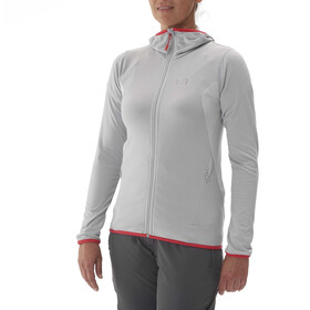 Millet Tech Stretch Hoodie Light Women metal grey/storm grey